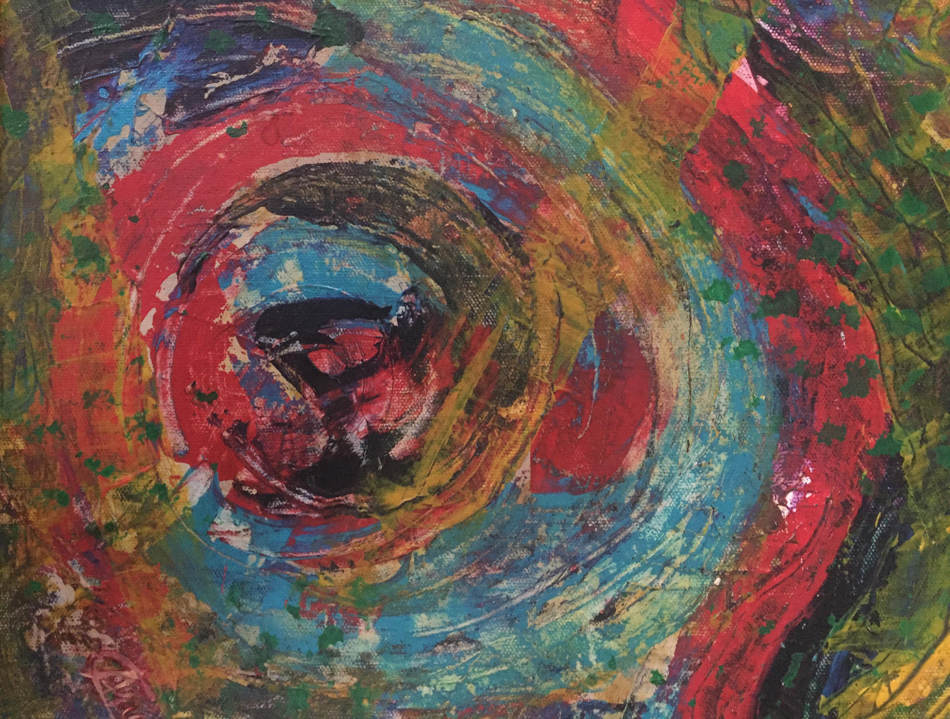 Circle of Life by Artist Aruna Chagarlamudi (Aruna's Art Studio)