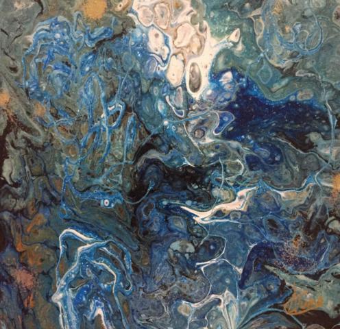 Fluid Art by Artist Aruna Chagarlamudi (Aruna's Art Studio)