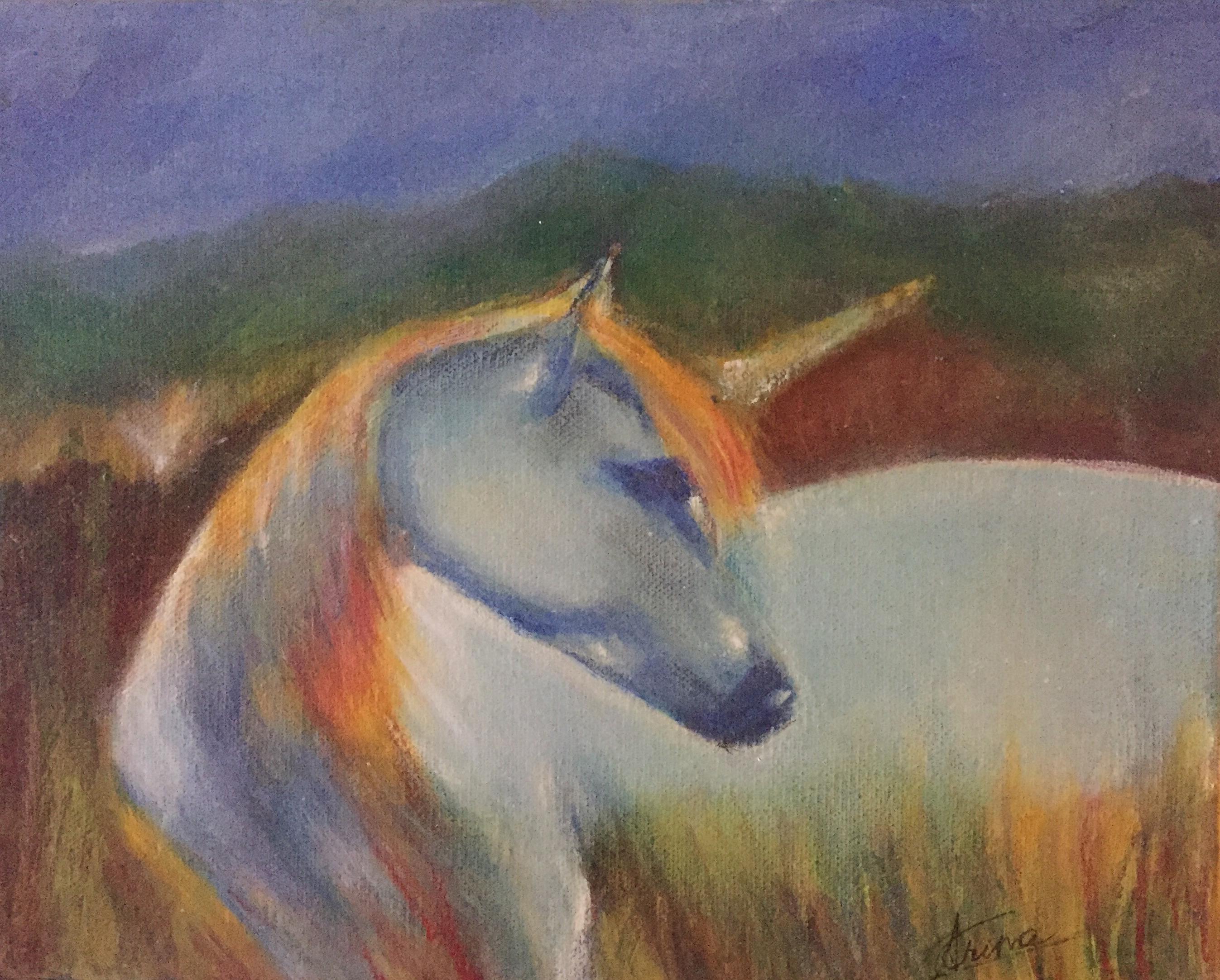 My Unicorn by Artist Aruna Chagarlamudi (Aruna's Art Studio)