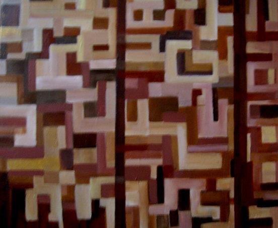 Abstract of shapes by Aruna Chagarlamudi